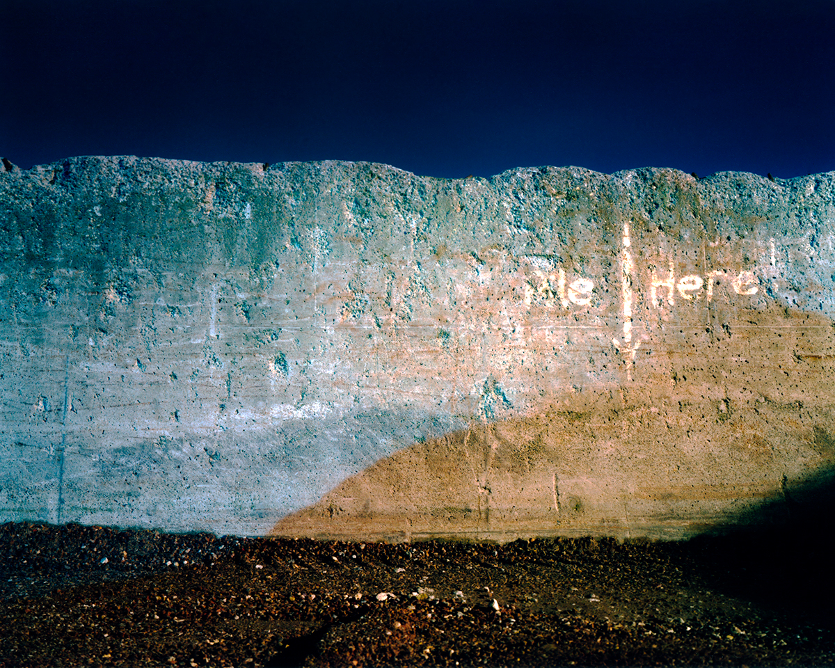 East Wall, 200316 x 20 inches, archival inkjet print